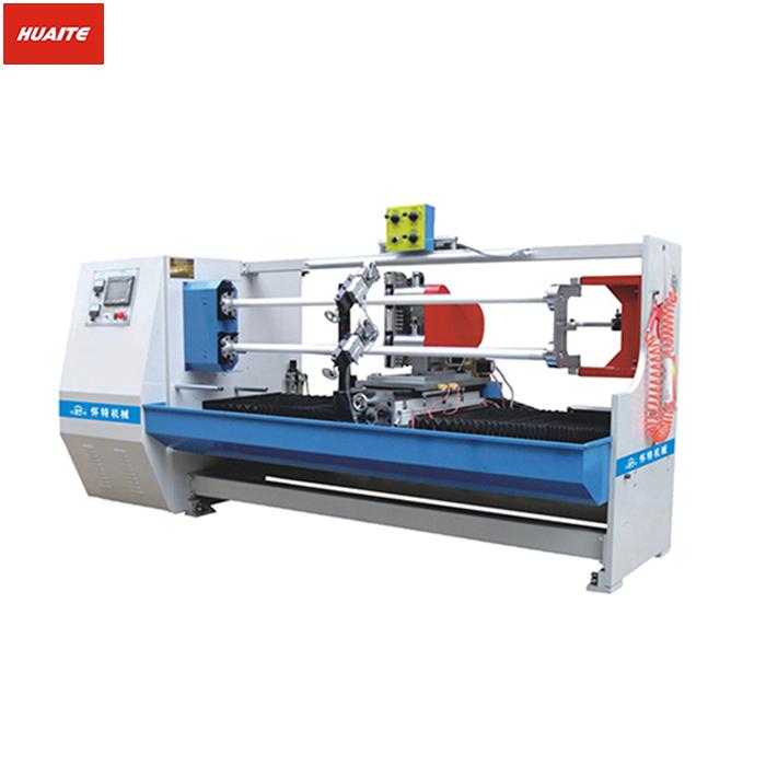 702A 双轴自动切卷机 美纹胶带裁切机 双面胶切卷机 泡棉胶带分切切台