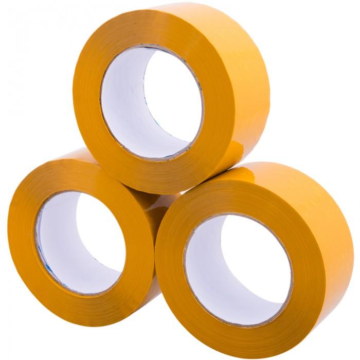 6.0cm黄色胶带批发透明封箱胶带封口胶淘宝快递打包封箱胶带
