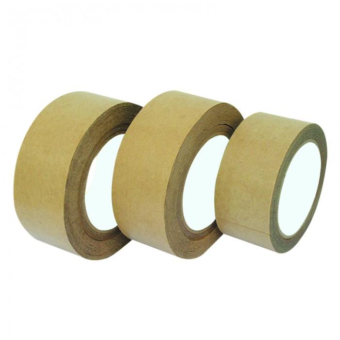 牛皮纸封箱胶带 粘性强易撕牛皮纸胶带 自粘封口打包胶带