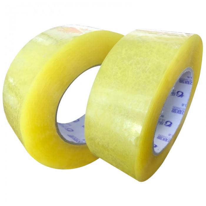 透明封箱胶带米黄色透明胶带快递打包胶带宽胶布透明胶带整箱批发