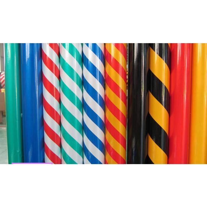 乐胶网 警示地板胶带半成品1.25m*16m 斑马划线标识胶带