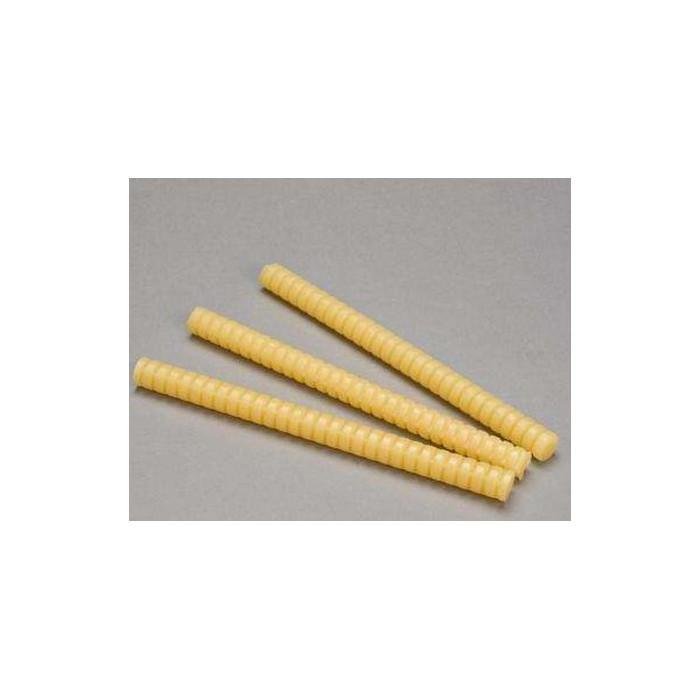 3M3762Q熱熔膠條3762Q黃色螺紋FDA防火熱熔膠條棒食品包裝箱粘接