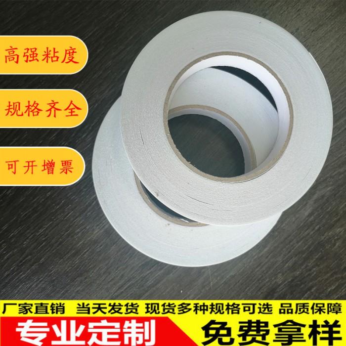 雙面膠學生用手工高粘度紙膠帶強力固定墻面不留痕兩面紙膠半透明
