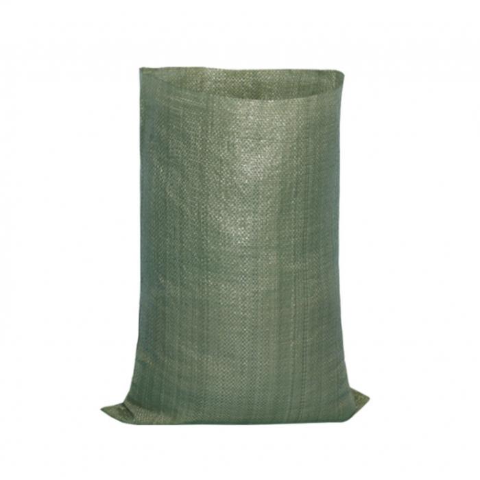 绿色加厚覆膜防水编织袋蛇皮袋打包袋物流袋麻袋腹膜编织现货尺寸  50*80