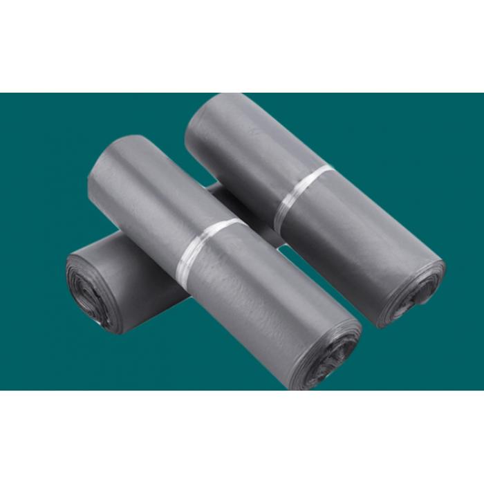 厂家[特价]现货批发印刷定制不同材质颜色降解打包防水快递袋 普通灰色25*35