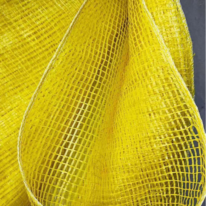 厂家直销秸秆网眼袋加工定制防潮抗拉塑编袋子玉米土豆包装袋65*95