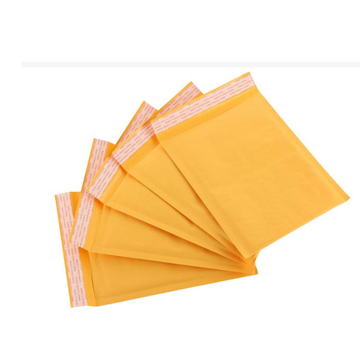 新料加厚黄色复合牛皮纸气泡信封袋 物流包装气泡信封快递袋【11*13cm】【1400个】