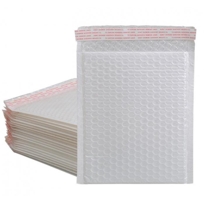 珠光膜气泡信封袋加厚快递防震摔泡沫打包装袋服装书本气泡袋定制 11*13+4