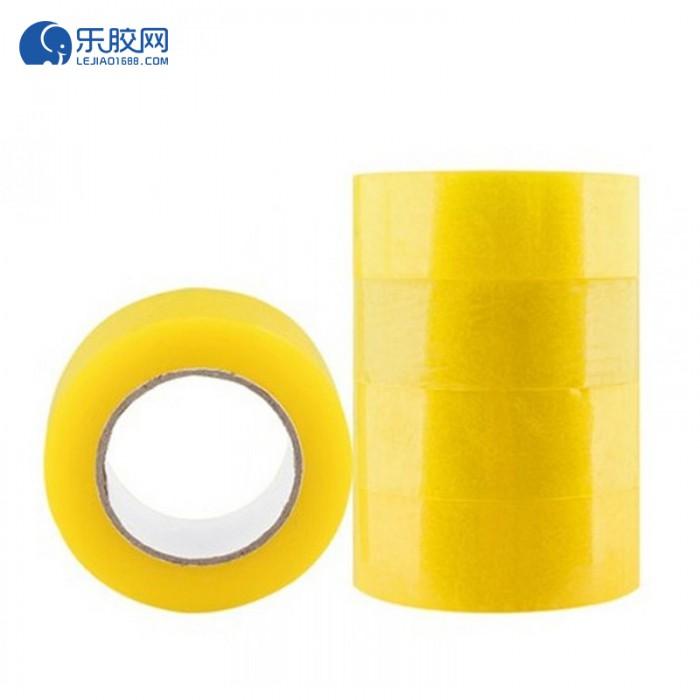透明黄封箱胶带  4.2cm*50m*54u 粘力强、不易断 1箱