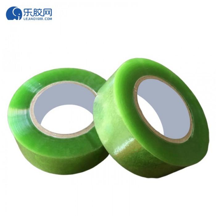 透明绿色胶带  45*40 多规格选可选  粘力强、不易断 1箱