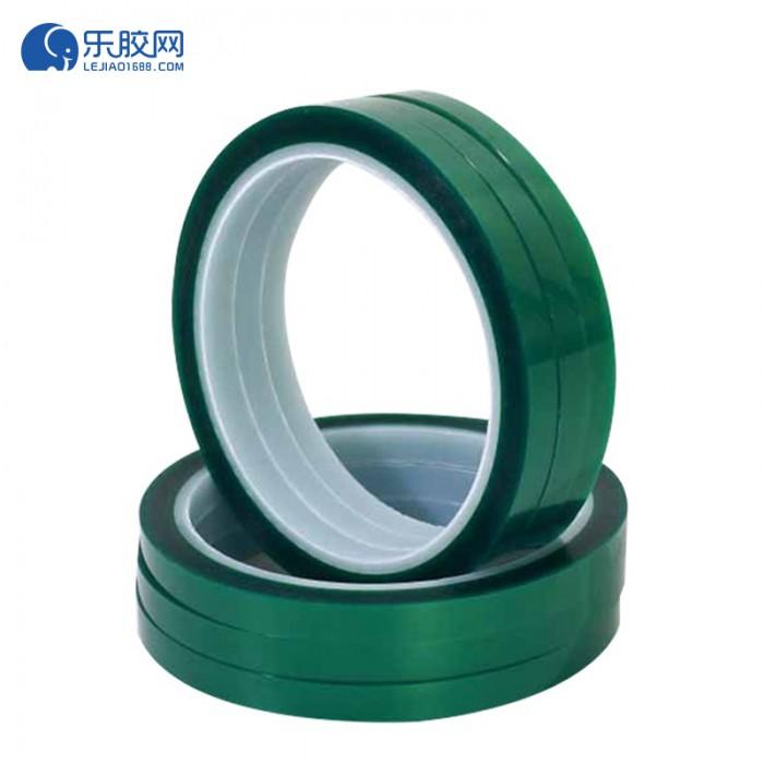 pet绿硅胶胶带 16mm*66m*55μ  耐高温、耐酸碱、耐腐蚀  1箱