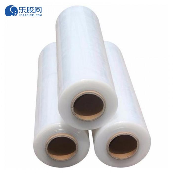缠绕膜高粘膜打包膜  0.6+1.3 多规格可选  高韧性、耐穿刺 1箱