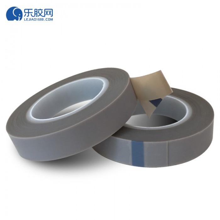 灰色铁氟龙膜胶带  19mm*10m*0.18mm  耐高温、耐腐蚀  1卷