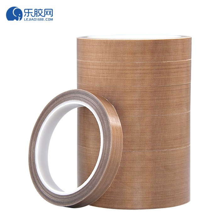 棕色铁氟龙纤维胶带 13mm*10m*0.18mm 耐高温、耐腐蚀  1卷
