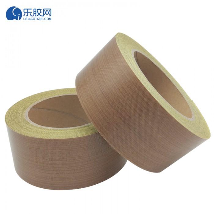棕色铁氟龙纤维胶带(带离型纸)50mm*10m*0.13mm  耐高温  1卷