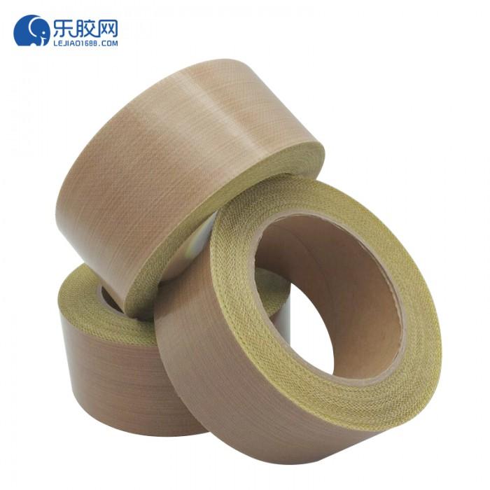 棕色铁氟龙纤维胶带(带离型纸)13mm*10m*0.18mm  耐高温  1卷