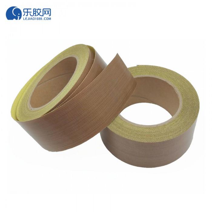 棕色铁氟龙纤维胶带(带离型纸)19mm*10m*0.18mm  耐高温  1卷