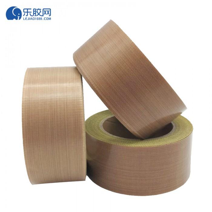 棕色铁氟龙纤维胶带(带离型纸)30mm*10m*0.18mm  耐高温  1卷