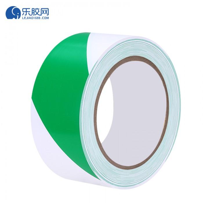 绿白警示胶带  24mm*20m  防潮、防水 1箱