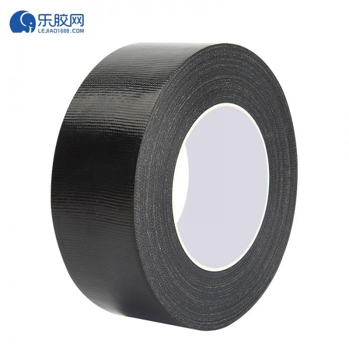 黑色布基胶带 50mm*25m  粘力强、剥离力高 1卷