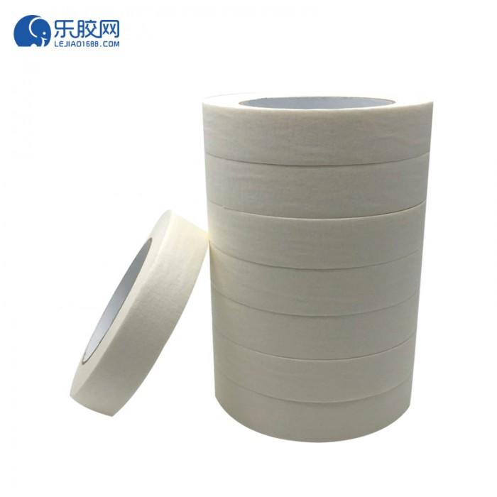 浅黄色美纹纸胶带   1.2cm*20m  不渗透、不残胶、易撕 1卷