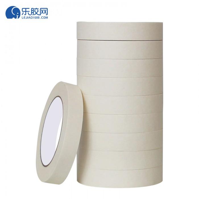 浅黄色美纹纸胶带   2cm*20m  不渗透、不残胶、易撕 1卷