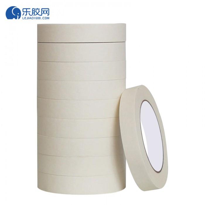浅黄色美纹纸胶带   2.5cm*20m  不渗透、不残胶、易撕 1卷