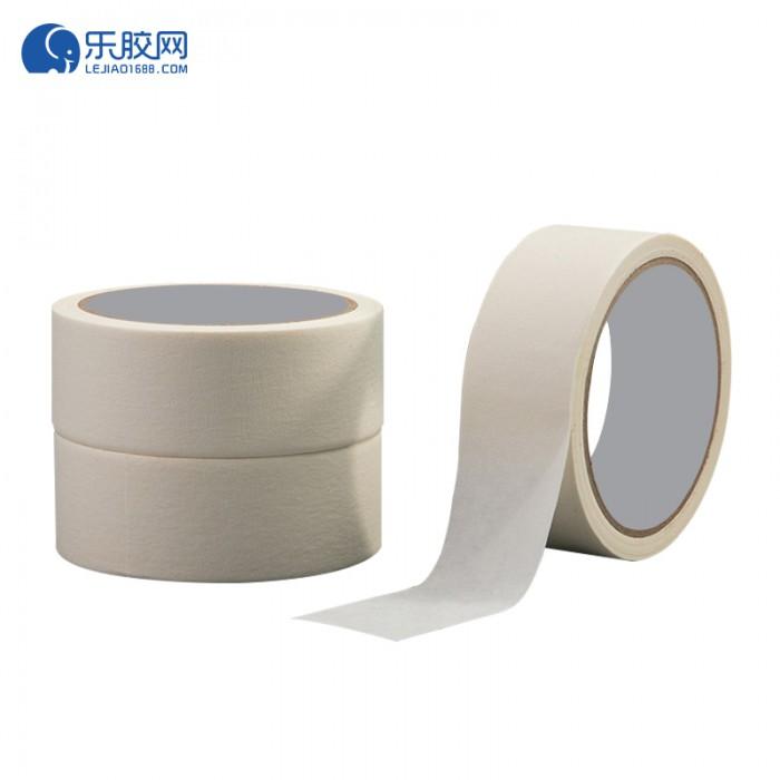 浅黄色美纹纸胶带   1.8cm*50m  不渗透、不残胶、易撕 1卷