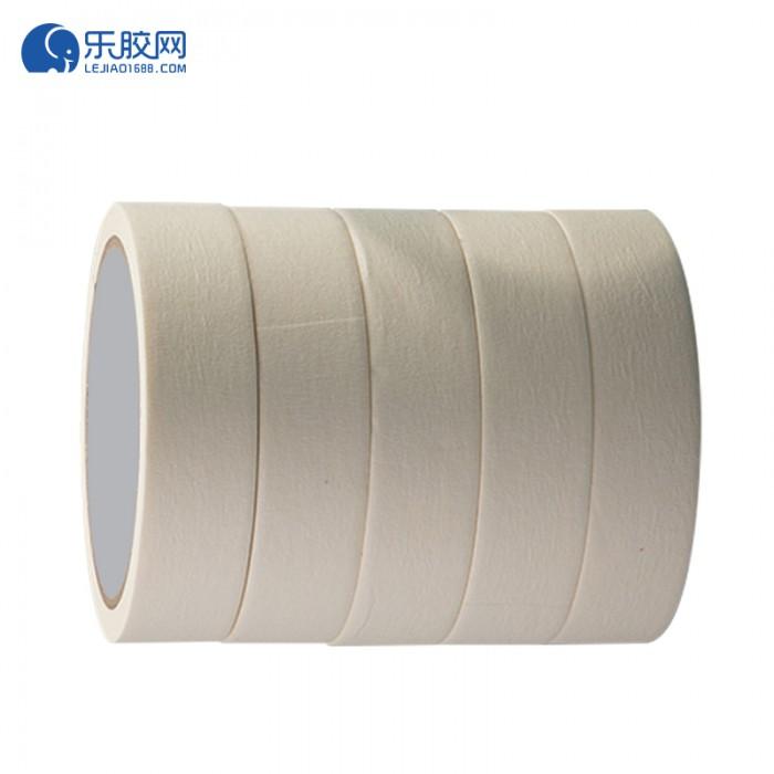 浅黄色美纹纸胶带   2.5cm*50m  不渗透、不残胶、易撕 1卷