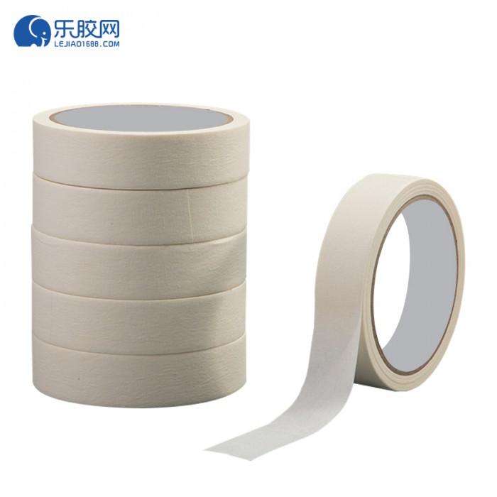 浅黄色美纹纸胶带   4cm*50m 不渗透、不残胶、易撕 1卷
