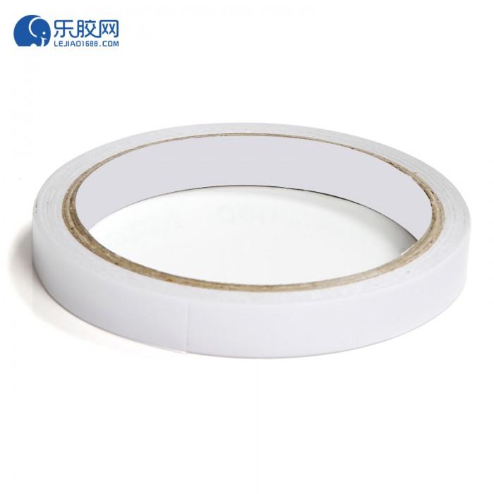 白色双面胶带  1cm*12m  粘力强、不残胶   1卷