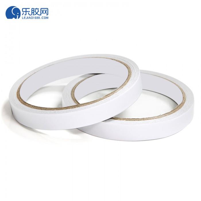 白色双面胶带 1.2cm*12m  粘力强、不残胶   1卷