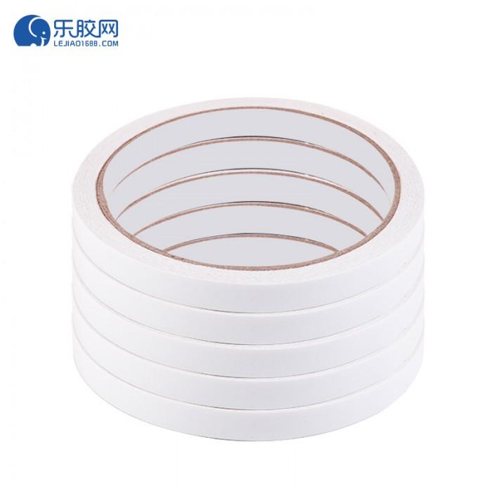 白色双面胶带  1.8cm*12m 粘力强、不残胶   1卷