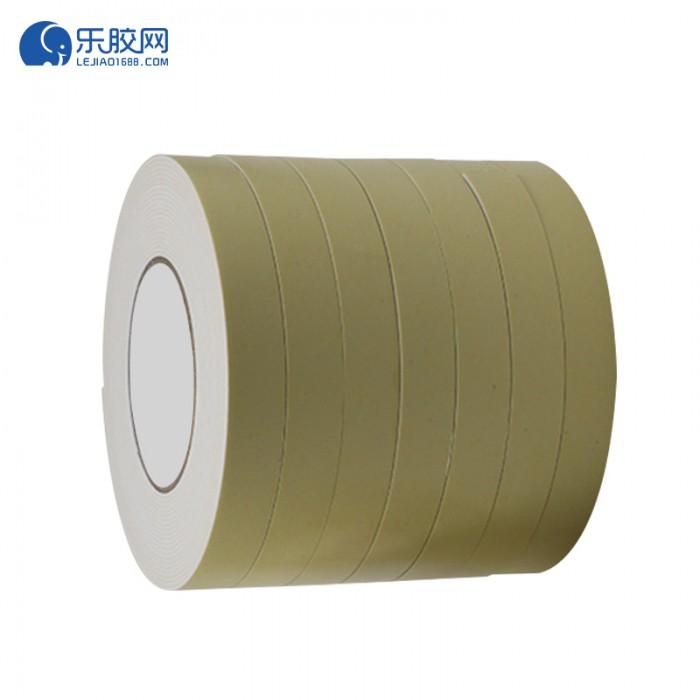 浅黄EVA泡棉双面胶带 1.5cm*10m*1mm  粘性强、耐熔性好 1卷