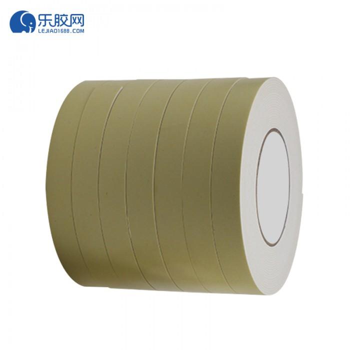 浅黄EVA泡棉双面胶带 1.8cm*10m*1mm  粘性强、耐熔性好 1卷