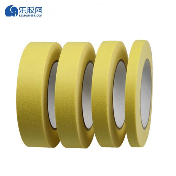 黄色耐温120度美纹纸 1.5cm*20m*0.16mm 不残胶、易撕 1卷