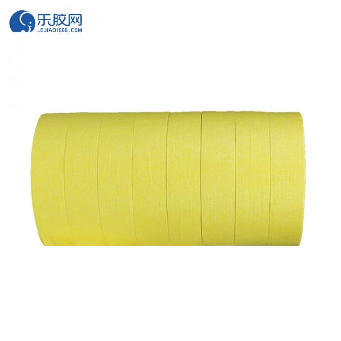 黄色耐温120度美纹纸 2cm*20m*0.16mm  不残胶、易撕 1卷