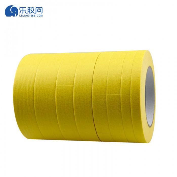 黄色耐温120度美纹纸 3.6cm*20m*0.16mm 不残胶、易撕 1卷