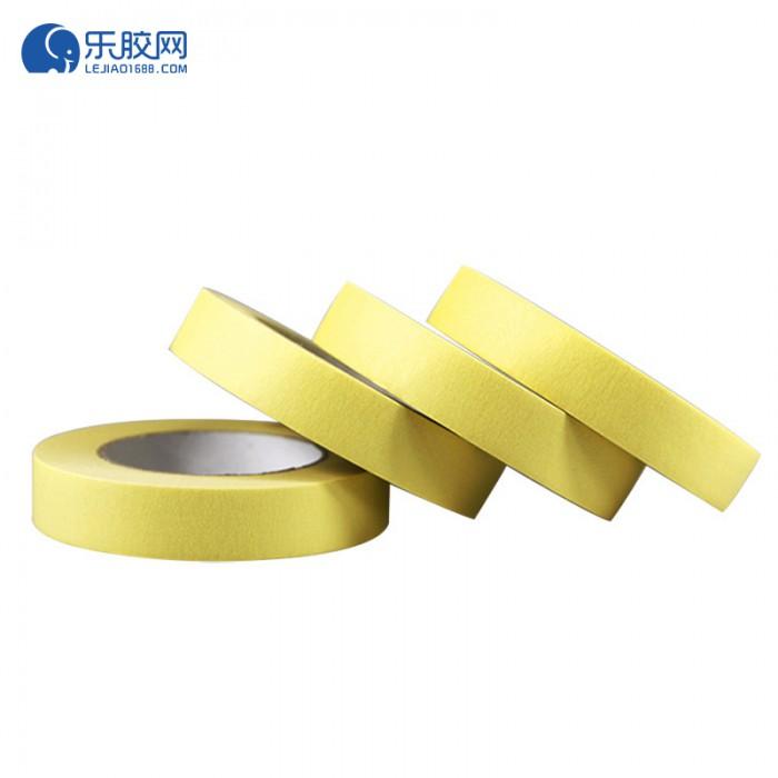 黄色耐温120度美纹纸 1.8cm*50m*0.16mm 不残胶、易撕 1卷