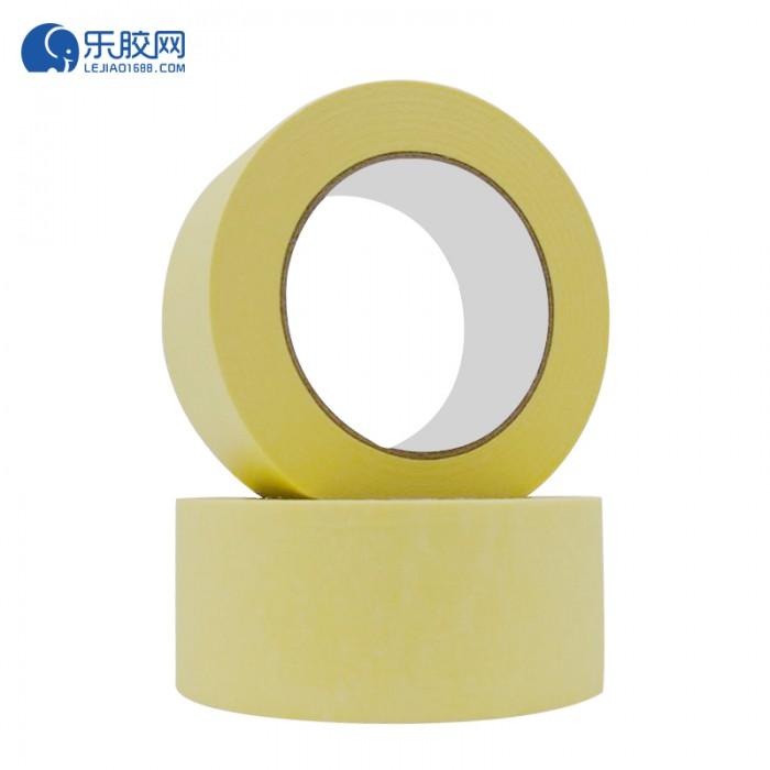 黄色耐温120度美纹纸 2.8cm*50m*0.16mm 不残胶、易撕 1卷