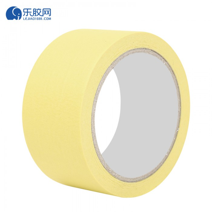黄色耐温120度美纹纸 3cm*50m*0.16mm 不残胶、易撕 1卷