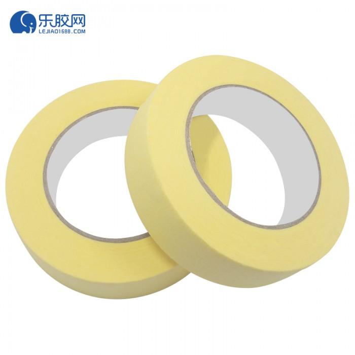 黄色耐温120度美纹纸 3.6cm*50m*0.16mm 不残胶、易撕 1卷