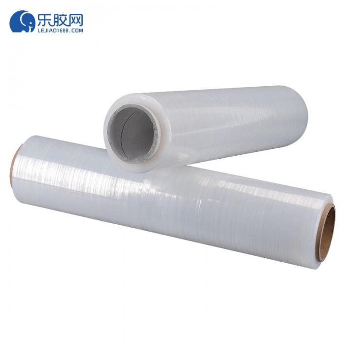 pe自沾保护膜 拉伸缠绕膜 透明定制50cm 1卷