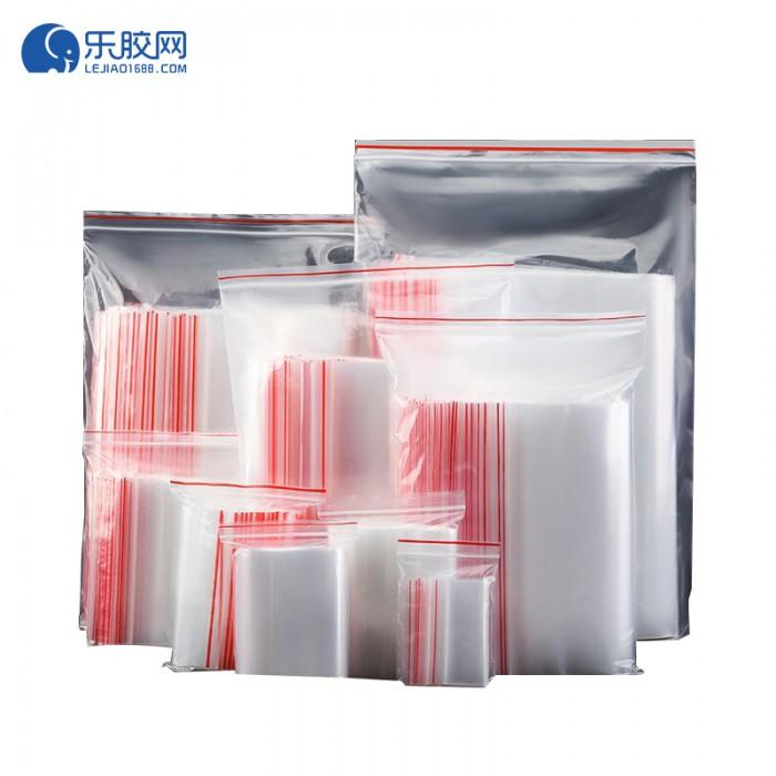 PE自封袋   4*6(100只/包)  5丝红边偏薄  防水、防尘  1包