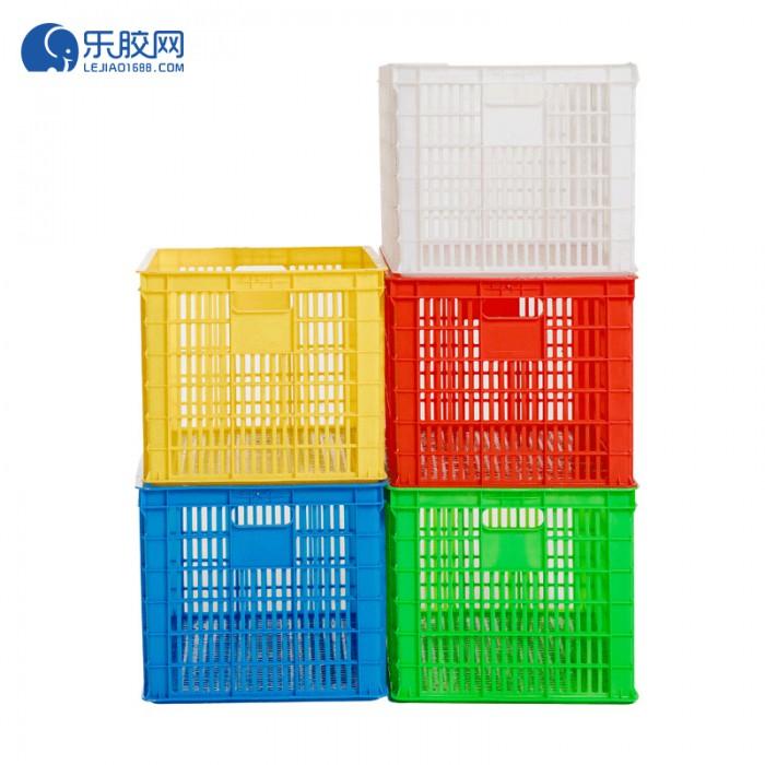 塑料箱长方形大号加厚  长380*宽300*高110mm  安全、结实  1个